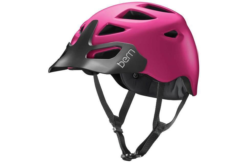 Bern Prescott Ladies Mountain Bike Cycling Helmet XS-S    M-L Boa Satin Fuchsia  perfect