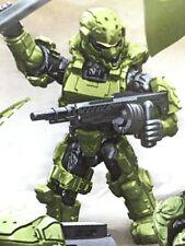 HALO SPARTAN SOLDIER From Fireteam Taurus Mega Bloks With Saw Gun Shown