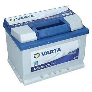 varta d59 12v 60ah 540a en autobatterie blue dynamic pkw batterie neu ebay. Black Bedroom Furniture Sets. Home Design Ideas