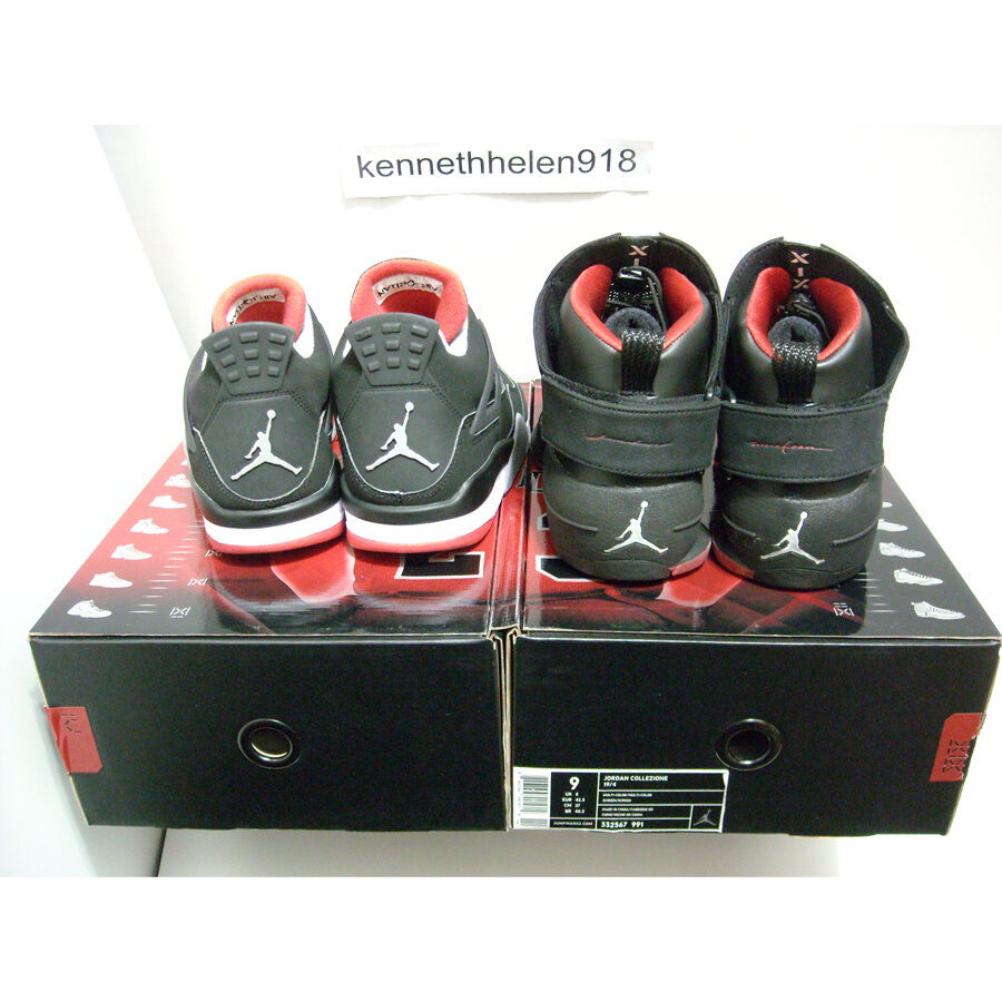 NEW NEW NEW 2008 NIKE AIR JORDAN COUNTDOWN PACK COLLEZIONE CDP 19 4 MULTI COLOR SIZE 9 1b5bea