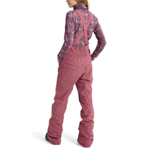 Burton Avalon Bib Pant Damen Snowboard Trousers Ski Dungarees Functional