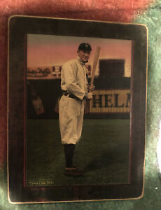 TY COBB - Helmar Imperial Cabinet - EXTREMLY RARE - Still In Wrapper! Detroit 🔥