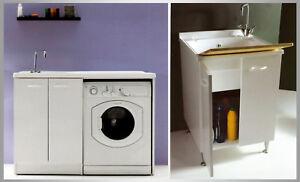 Mobile lavatoio lavanderia lavapanni lavatrice lavabo cm - Lavatoio leroy merlin ...