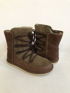83264c4010a Details about UGG LODGE CLASSIC SHORT SHEARLING CHOCOLATE BOOT US 8 / EU 39  / UK 6.5 - New