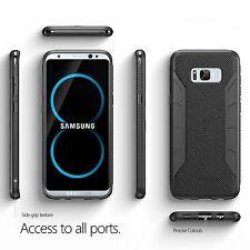 Poetic 【Karbon】 Shield Slim Fit For Samsung Galaxy S8 Case Black