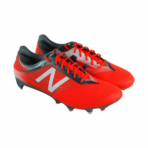 86cdad579 New Balance Furon V2 Pro Sg Mens Orange Synthetic Athletic Soccer ...