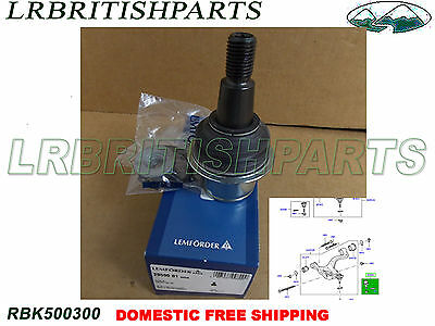 LAND ROVER BALL JOINT FRONT LOWER CONTRO ARM R.R SPORT 05-13 LEMFÖRDER RBK500300