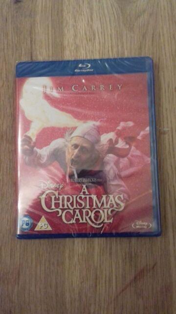 A Christmas Carol  (Blu-Ray) New And Sealed  JIM CARREY   FREE P&P