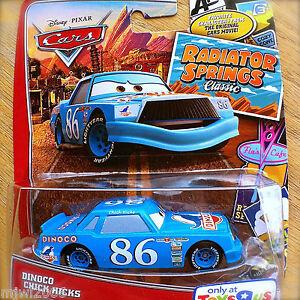 Disney PIXAR Cars DINOCO CHICK HICKS on RADIATOR SPRINGS TOYS R US ...