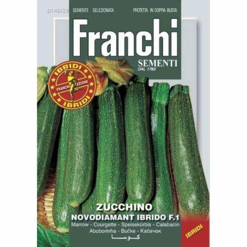 SEMI ZUCCHINO NOVODIAMANT F1 FRANCHI SEMENTI