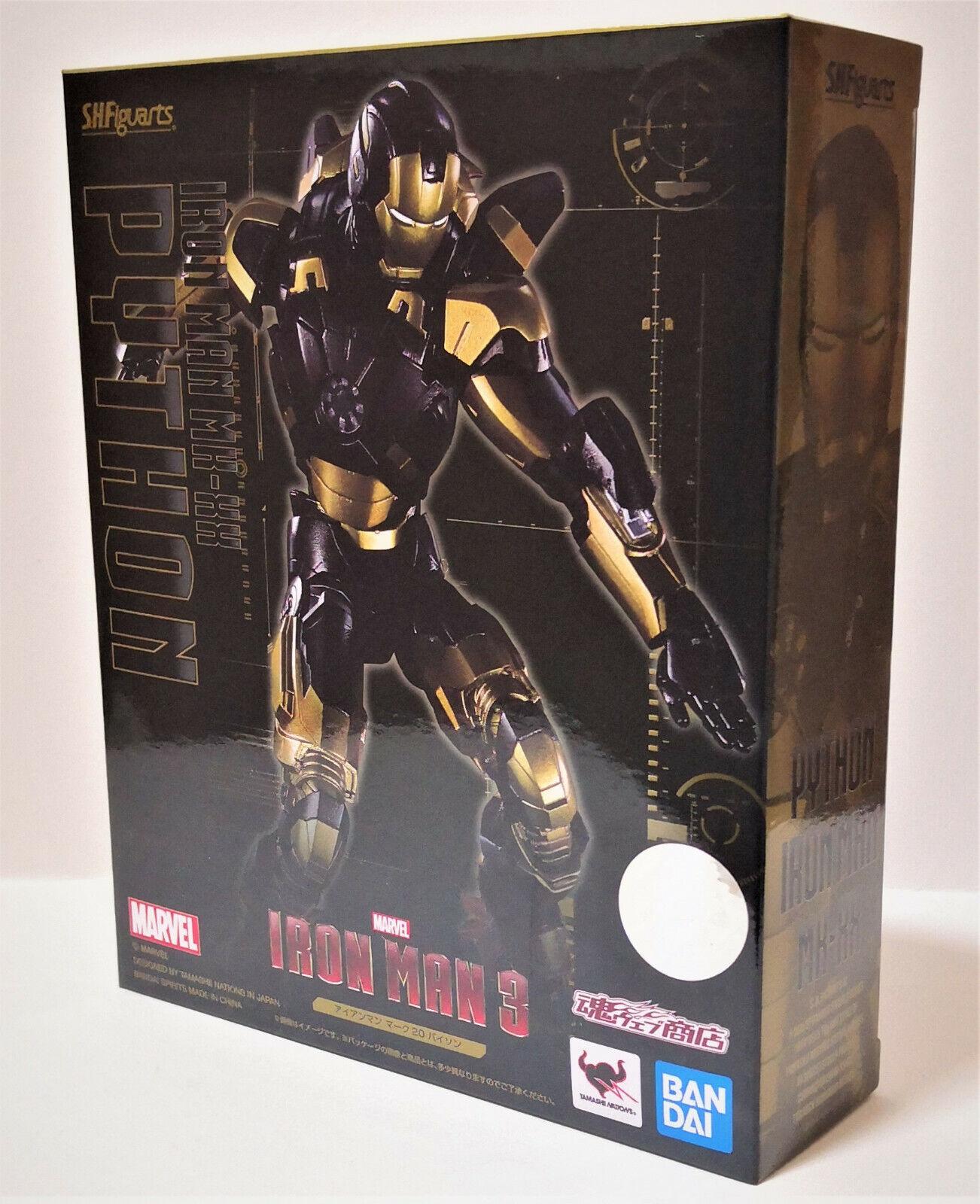 S.H Figuarts   Iron Man Mark 20 Python Iron Man 3 Tamashii Nations