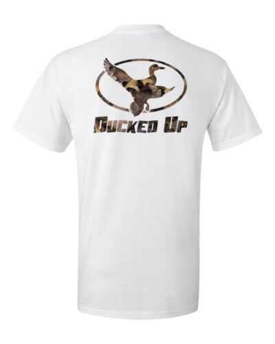 dynasty,funny,decoy,hunter,camo call Ducked Up t shirt Apparel,duck hunting