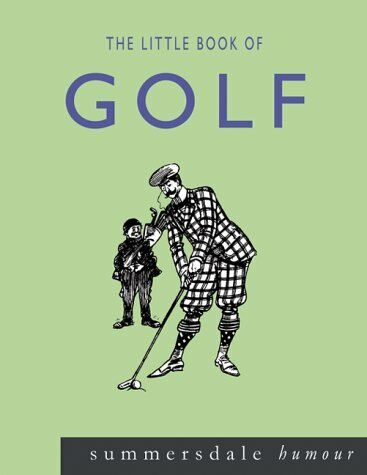 (Very Good)1840243880 The Little Book of Golf,Barkes, Vic,Paperback