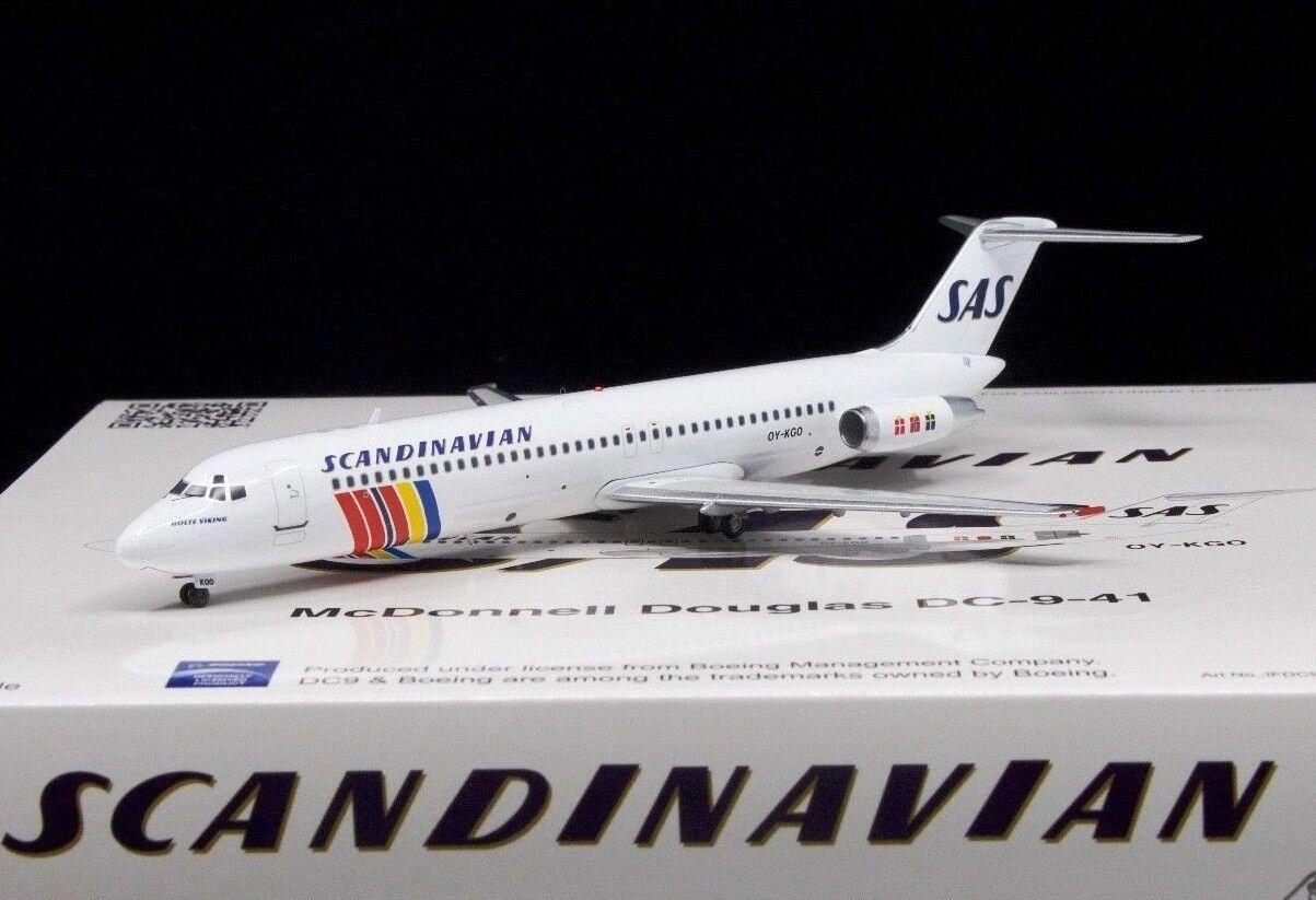 Ifdc940518 1 200 Escandinavo Airlines SAS Dc-9-41 Oy-Kgo Holte Vikingo Con