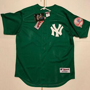 premium selection 04bcd 341bc Details about New York Yankees Authentic BP Jersey Alex Rodriguez St  Patricks Day VINTAGE Rare