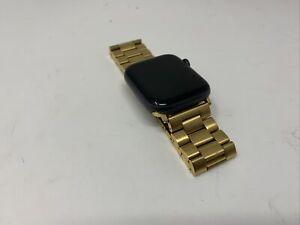 Reloj de Apple se 44mm (GPS) - Gris Espacio carcasa de aluminio con banda de enlace de oro