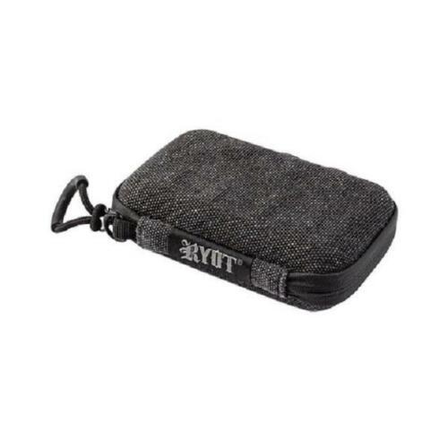 "RYOT SmellSafe Hard Shell Krypto-Kit Case 5/"" x 3/"" Smell Proof Lockable Black Bag"