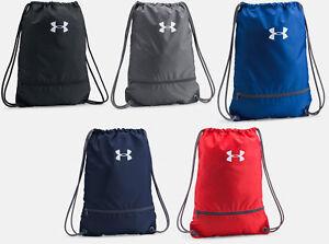 Under-Armour-String-Drawstring-Cinch-Sack-School-Tote-Gym-Bag-Sport-New-1301210