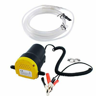 Fluid Oil Diesel Extractor,DC 12V 60W Oil Diesel Fluid Pump Extractor Scavenge Suction Transfer Pump with Tube 250L//Hour for Auto Car Boat Motorbike Truck