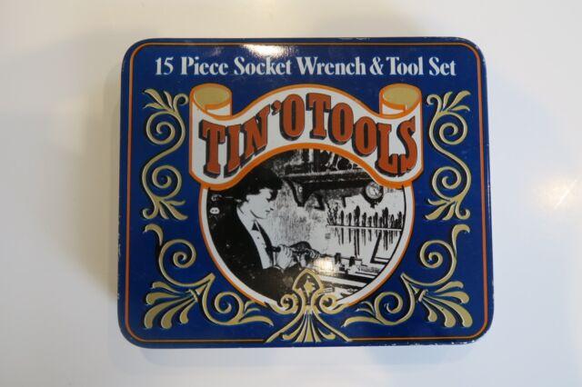Tin O Tools 1983 Vintage Classic Tool Set With Original Box