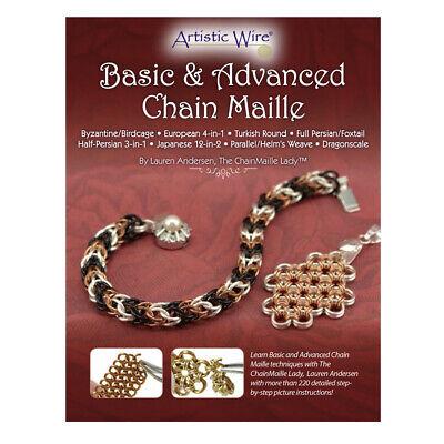 Artistic Wire® Basic & Advanced Chain Maille Broschüre Von Lauren Andersen