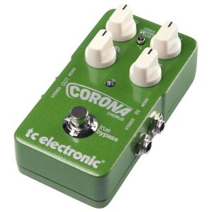 TC-Electronic-Corona-Stereo-Chorus-Guitar-Effects-Pedal-FX-NEW