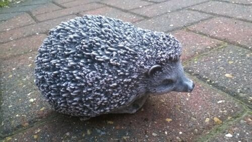 Stone Quality Detail and finish Small Hedgehog Garden Ornament