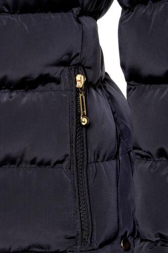 10 Taille Rembourré Marine Bleu Femmes Matelassé 8 Veste 14 Womens 16 12 5rx4qgBr