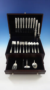 Nocturne-by-Gorham-Sterling-Silver-Flatware-Service-For-8-Set-38-Pieces