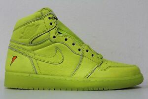 abe9b553527027 Nike Air Jordan 1 Retro HI OG G8RD Gatorade Lime Cyber Yellow AJ5997 ...
