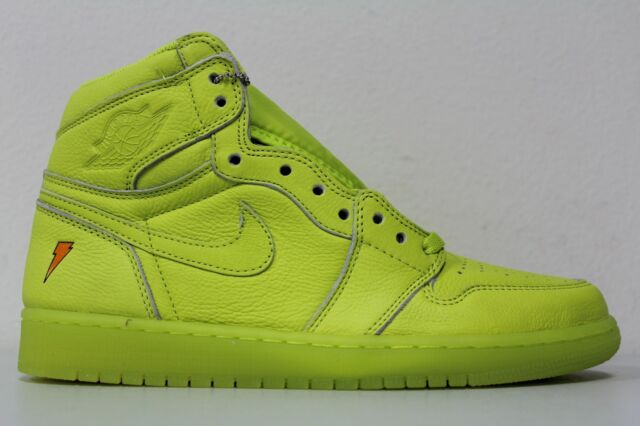 hot sales buy best great fit Nike Air Jordan 1 Retro High OG G8rd Size 11.5 Gatorade Lemon Lime Aj5997  345