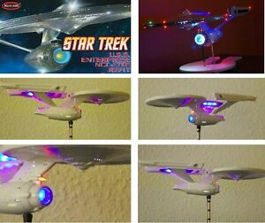 Image is loading Lighting-Set-Enterprise-1701-1-1000-refit-Star- & Lighting Set Enterprise 1701 1:1000 refit Star Trek AMT POLAR ... azcodes.com