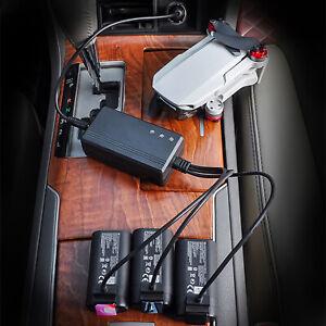 3-in-1-Batterie-USB-Auto-Ladegeraet-Hub-Adapter-Fuer-DJI-Mavic-Mini-Drone-Batterie