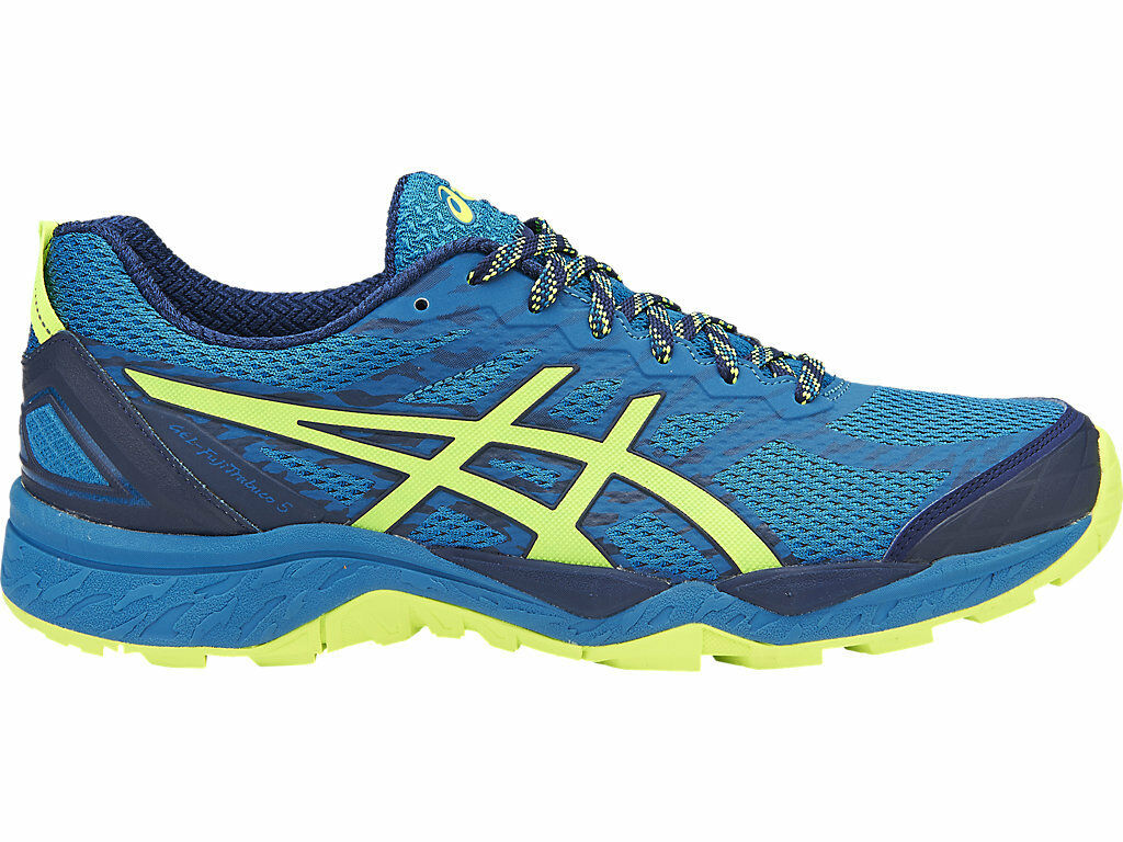 Asics Gel Fuji Trabuco 5 Homme Trail Running Chaussures (D) (4907) + FREE AUS DELIVERY