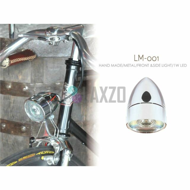 Kiley Retro Classic Bicycle Bullet Head Light 1W Super LED Bikes