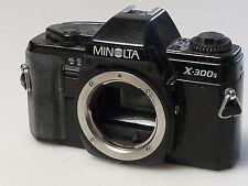 (PRL) MINOLTA X-300S BODY 35 mm SLR SPARE PARTS FOTORIPARATORE REPAIR REPARATION