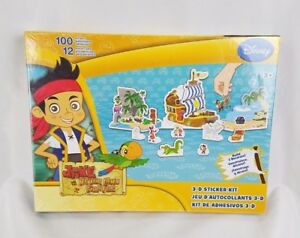 Disney-Jake-and-the-Never-Land-Pirates-3-d-Sticker-Kit