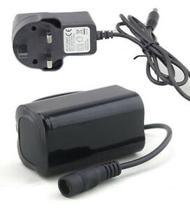 6400-mAh-Spare-Battery-Pack-and-Charger-For-CREE-XML-T6-LED-Bike-MTB-Light