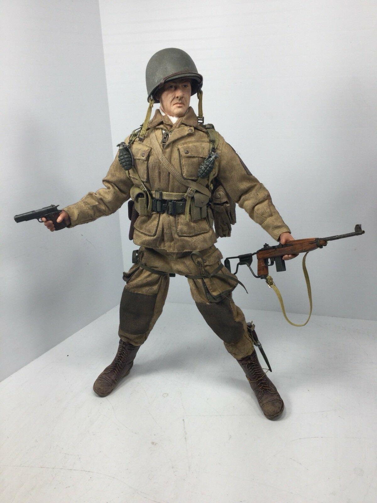 1 6 DRAGON US 101ST AIRBORNE PARATROOPER 1ST SGT D-DAY NORMANDY WW2 DID BBI 21st