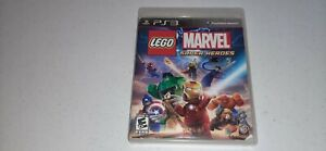 LEGO Marvel Super Heroes (Sony PlayStation 3, 2013) PS3 Video Game No Manual