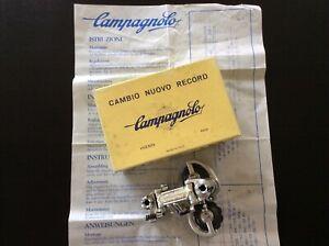 NOS/NIB Campagnolo Nuovo Record rear derailleur pat.'78