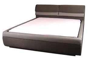 Designer-Wasserbett-Softside-Luxus-Braun-Mono-Komplett-Wasser-Bett-180-x-200