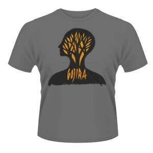 GOJIRA HEADCASE Official T Shirt Size XXL Grey Mens Licensed Merch New