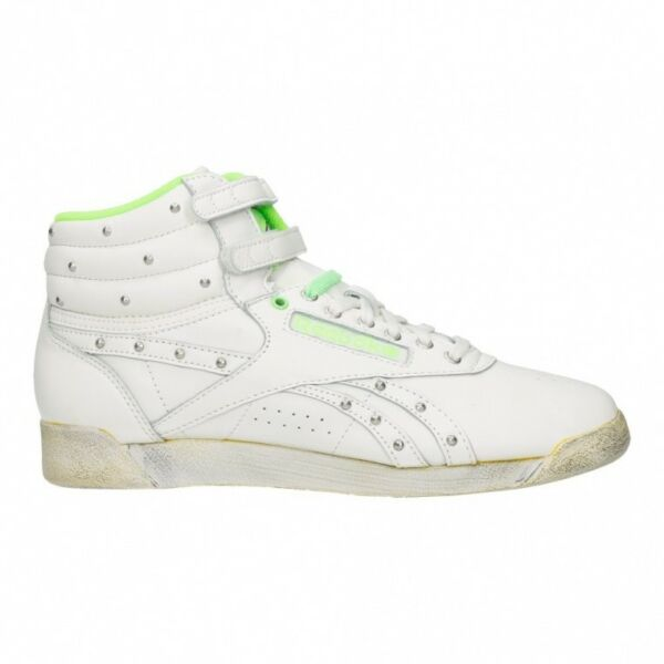 Reebok Women S Sneakers Freestyle Hi Shoes High Top White Vintage