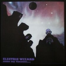 ELECTRIC WIZARD - COME MY FANATICS ... - 2LP REISSUE BLACK VINYL 2011 BRAND NEW