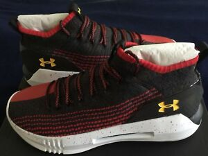 11 006 Under Armour Rot Basketballschuh Seeker Heat Schwarz 191480980804 Herren w4w8qUR