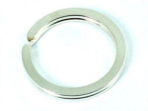 Ø 43 Mm Schlüsselring 3,3 Verschiedene Stile Spaltring Silber 925/000