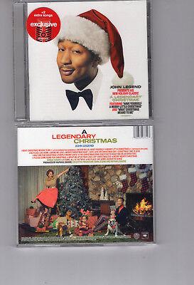 JOHN LEGEND - A LEGENDARY CHRISTMAS (CD 2018) NEW **2 BONUS TRACKS** 190759037423   eBay