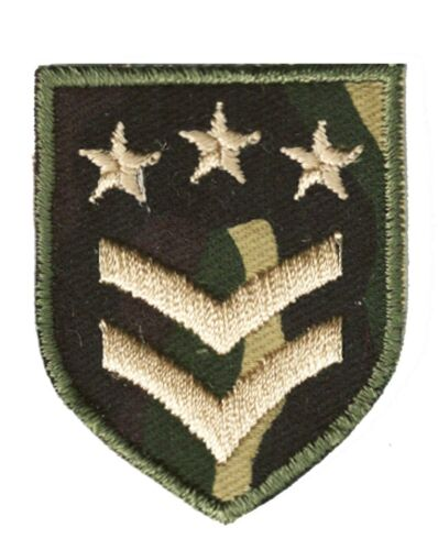 Ecusson patche Insigne militaire armée paintball patch brodé
