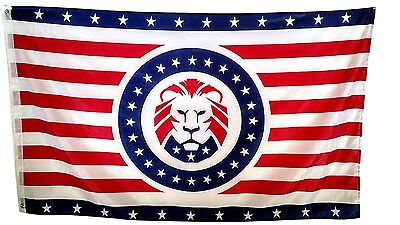 Collectibles Donald Trump Maga Lion Flag 3x5ft Banner Curing Cough And Facilitating Expectoration And Relieving Hoarseness Flags
